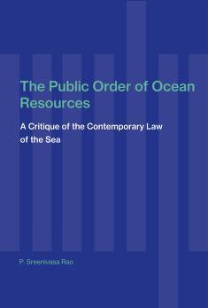 Cover of: The public order of ocean resources | Pemmaraju Sreenivasa Rao